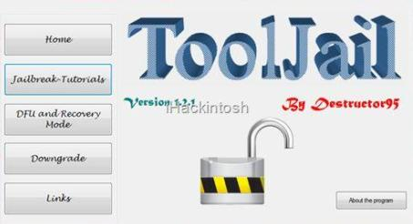 ToolJail to jailbreak iphone