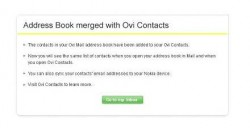 Brief: Ovi Mail Gets Upgrade with Ovi Contacts Integration
