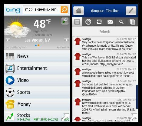Silverlight Comes to Symbian: Facebook App Running on Nokia N97