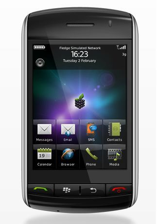 Smart Berries v1.0 Theme: Beautiful free Blackberry Storm and Storm 2 Theme
