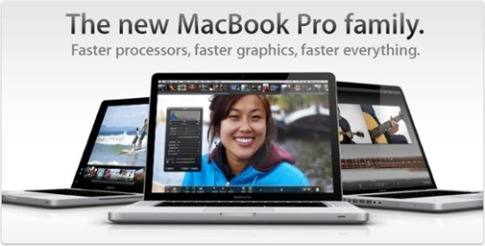 Apple Unveils MacBook Pro with Core i5 and Core i7 Processor