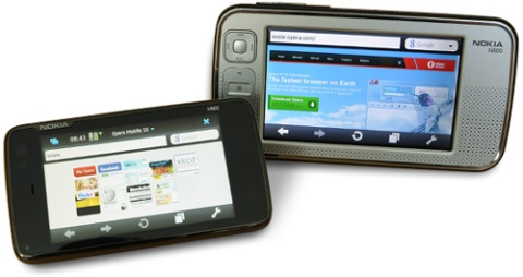 Opera Mobile 10 for Nokia N900, N800 and N810