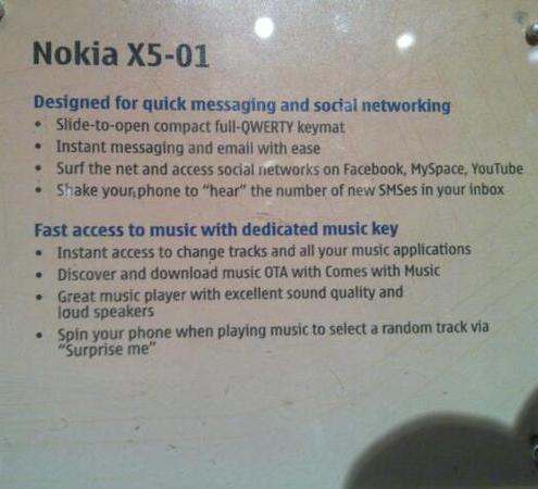 Nokia-X5-specifications-price