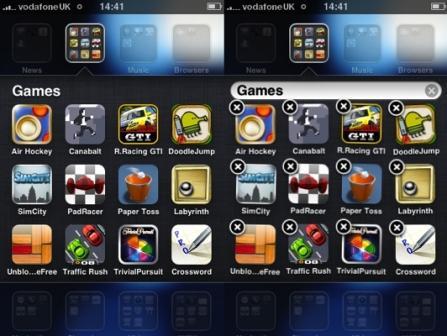 How to Create Folders in iOS 4