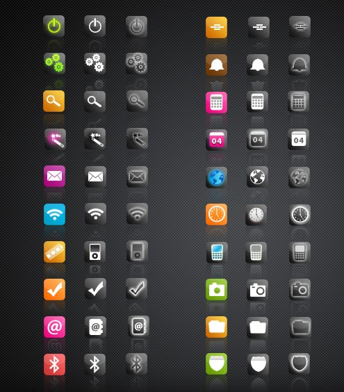 icons for blackberry