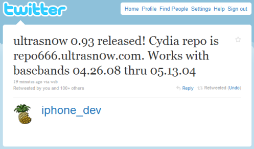 Ultrasn0w 0.93 Released to Unlock iOS 4 (iPhone 3G and iPhone 3GS) ultrasn0w 0.931