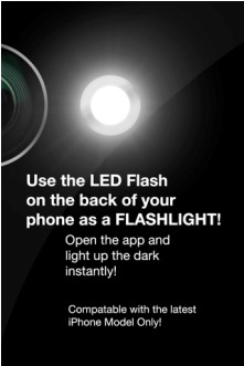 flash light for iphone 4