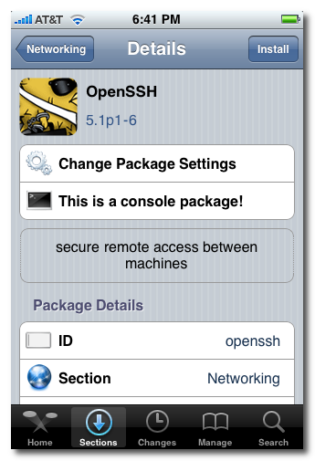 How to Install and Use OpenSSH on iPhone and iPad on Windows (WinSCP)