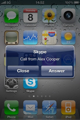 whats new in skype for iphone 4