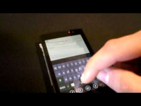 [Windows Phone 7 Apps] Video of Seesmic for WP7