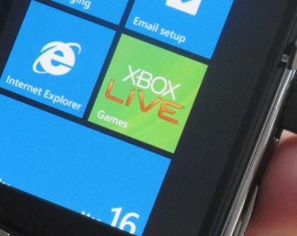 Xbox Live Games Titles for Windows Phone 7 Announced