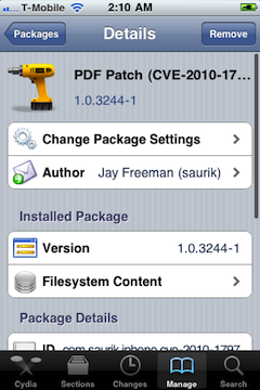 PDF Patch for iPhone 2G and iPod Touch 1G
