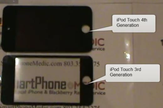 LCD of iPod Touch 4th Gen Spotted in a Wild Video