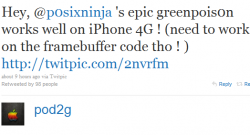 Jailbreak iOS 4.1 with GreenPois0n is Coming Soon