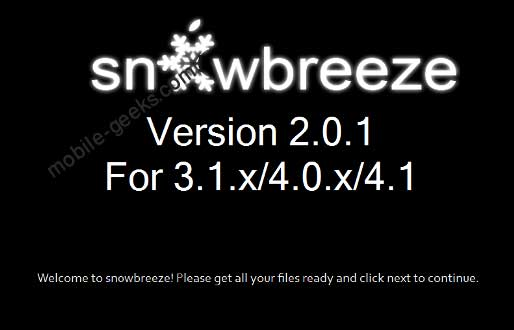 snowbreeze-2.0.1-download