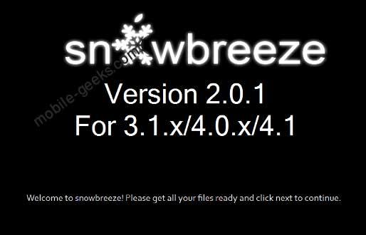 snowbreeze-2.0.1-download