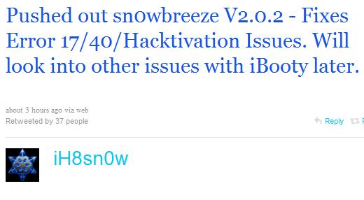 snowbreeze 2.0.2