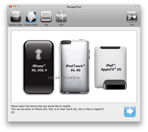iOS 4.3 b3 Jailbreak on iPhone 4, iPod Touch 4G and Apple TV 2G Using PwnageTool and Ramdisk Fixer 12