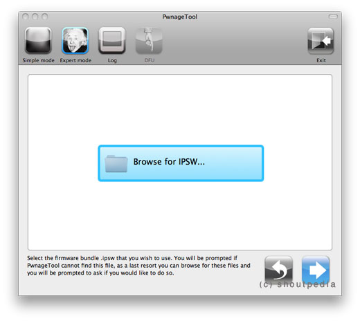 Jailbreak iOS 4.3 GM on iPhone 4 using Unofficial PwnageTool Bundle 22