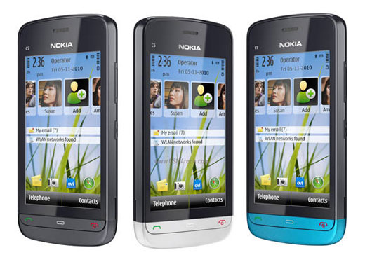 nokia phones touch screen with prices. nokia c5-03 is symbian^1 touch screen phone, that packed with all the features and specs for modern-day phones also phone low-budget prices a