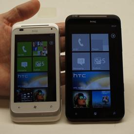 HTC Radar and Titan
