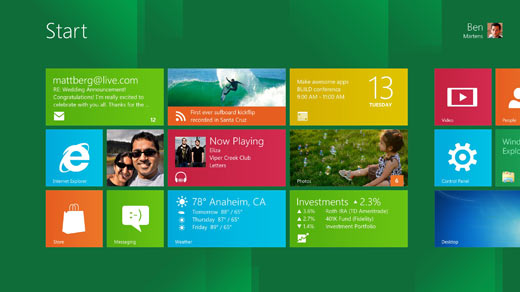 Download Windows 8 Developer Preview Build