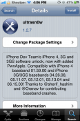 Ultrasn0w 1.2.7 Released to Unlock iPhone 4, iPhone 3GS on iOS 5.1.1