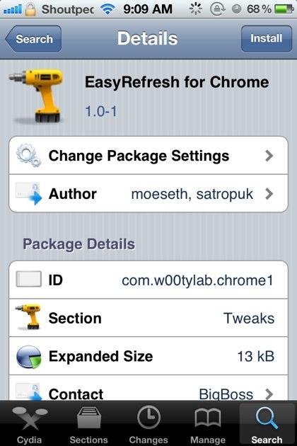 EasyRefresh for Chrome