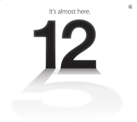 Live iPhone 5 Event Updates with Images [Live Blogging]