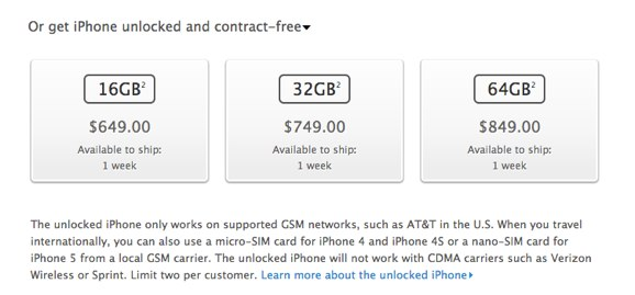 iPhone 5 Buy iPhone 5 for AT amp T Verizon or Sprint with Free Shipping Apple Store U.S.