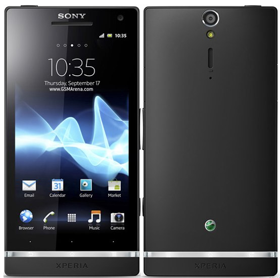Sony Xperia S pictures, official photos