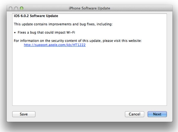 iOS 6.0.2 for iPad Mini and iPhone 5 Released by Apple