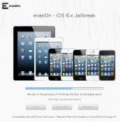 evasi0n iOS 6.x Jailbreak - official website of the evad3rs