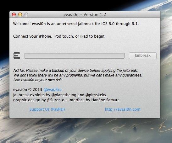 evasi0n - Version 1.2