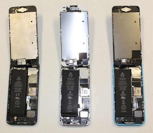 teardown iphone 5s