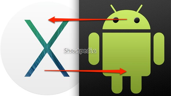 transfer files between android and os x 10.9