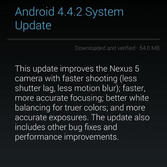 update android 4.4.2