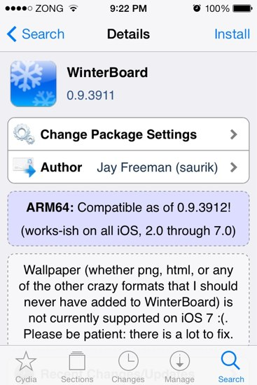 Winterboard for iOS 7