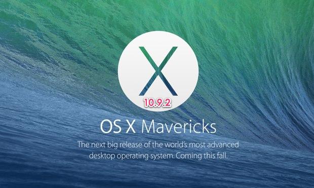 Mavericks 10.9.2