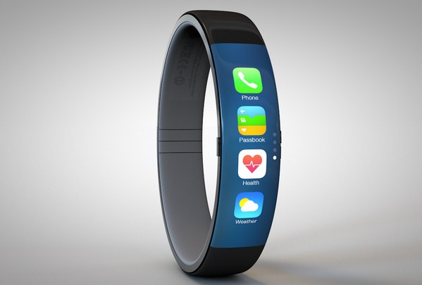 iWatch Concept with health