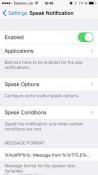 Let iOS 7 Notifications Speak on iPhone and iPad with this Cydia Tweak