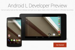 Download Android L Developer Preview for Nexus 7 and Nexus 5