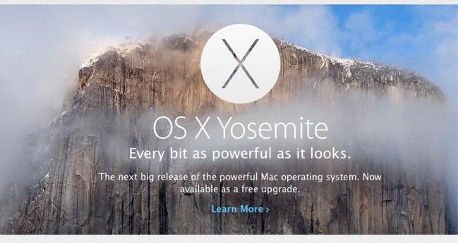 apple - OS X Yosemite