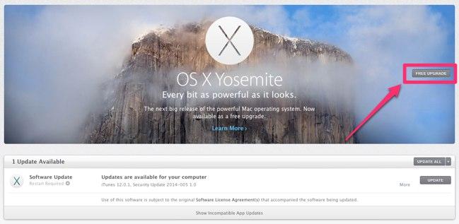 free download yosemite