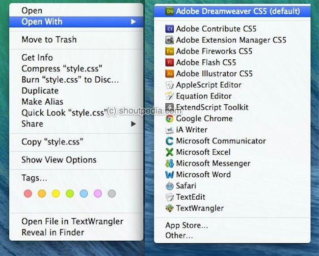 How to Remove Duplicate App Names from Right-Click Open-With Menu [Mac]
