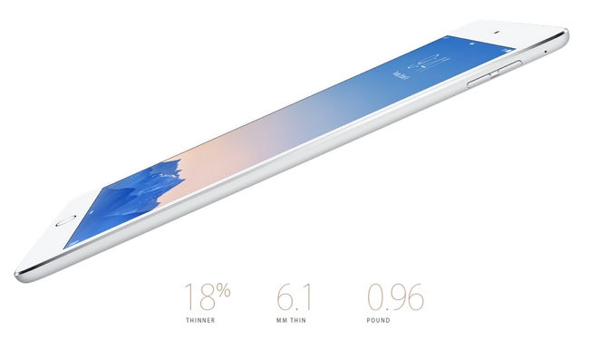 iPad Air vs ipad Air 2