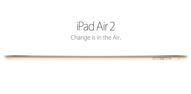 What is Changed in iPad Air 2 from Previous Model