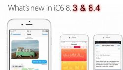Download Links for iOS 8.3 and iOS 8.4 for iPhone and iPad