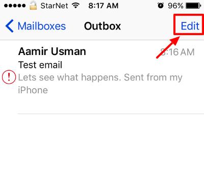 Trash Emails