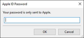iTunes-password